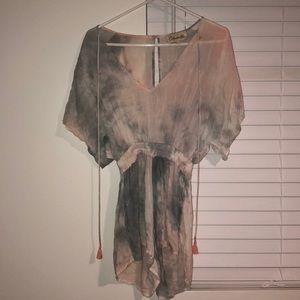 Cleobella Tie Dye Romper